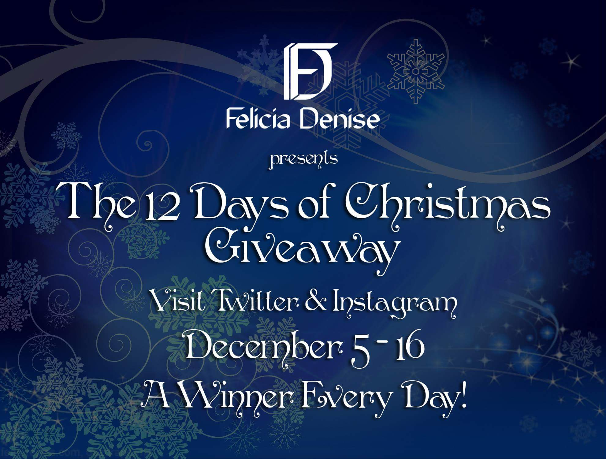 12 days of christmas giveaway instagram