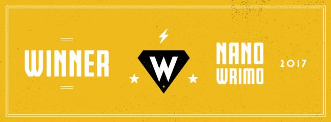 NaNo winner banner