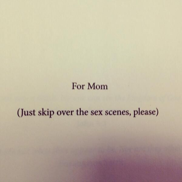 Next Book Dedication