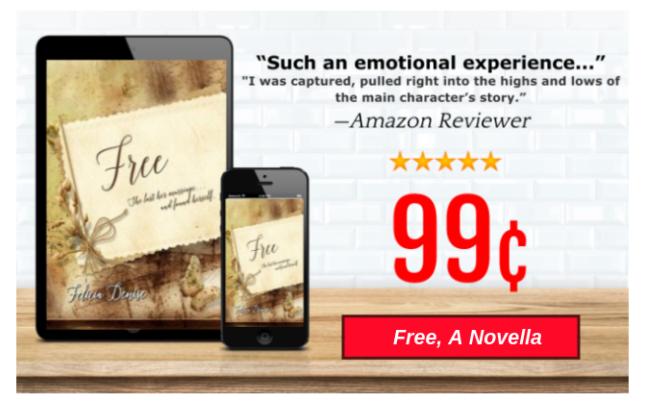Free, a Novella flyer