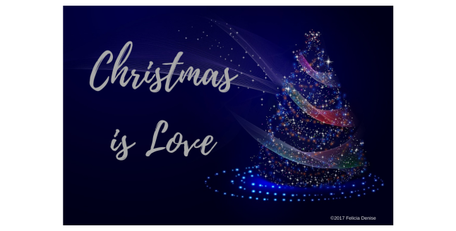 Christmas is Love banner