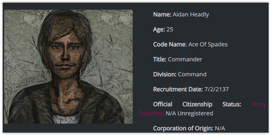 Aidan Headley banner