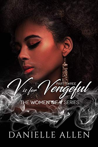 V is for Vengeful cover