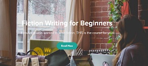 fiction writing banner
