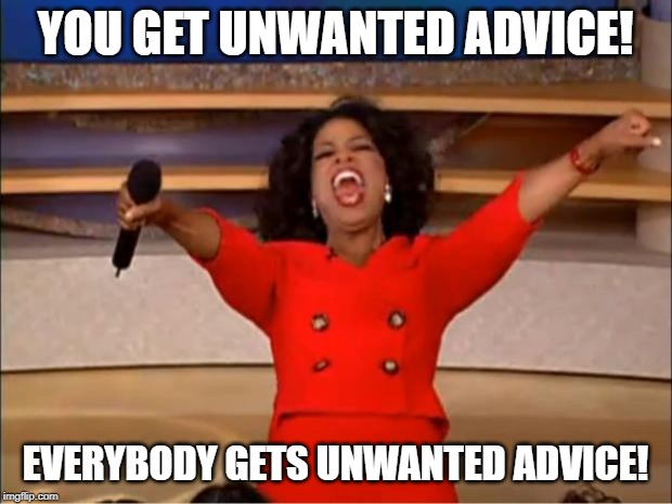Oprah advice